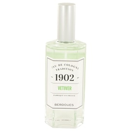 1902 Vetiver by Berdoues Eau De Cologne Spray (Unisex) 4.2 oz - Men