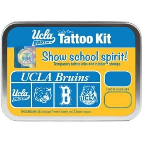 Clearsnap CS19617 University of California Los Angeles Collegiate Tattoo Kit
