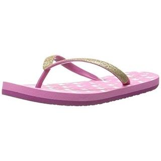 Reef Girls Little Stargazer Flip-Flops Glitter