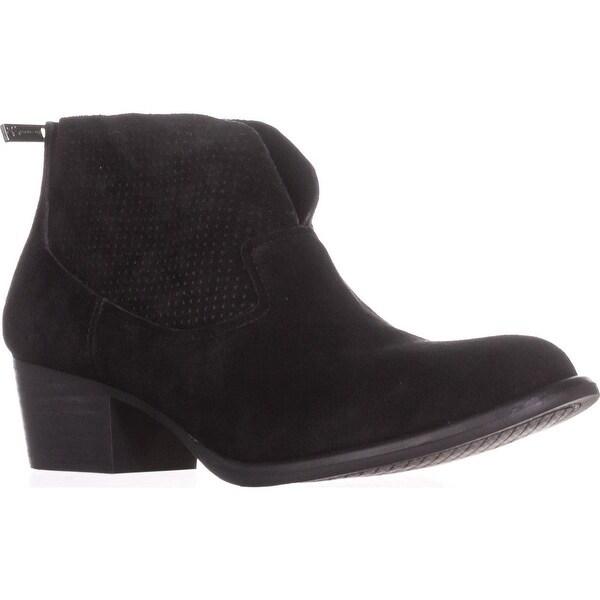 Jessica Simpson Dacia Block-Heel Booties, Black