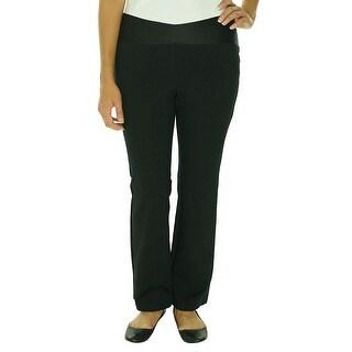 Alfani Plus Size Wide Leg Pull On Pants Slacks Trousers - 16W