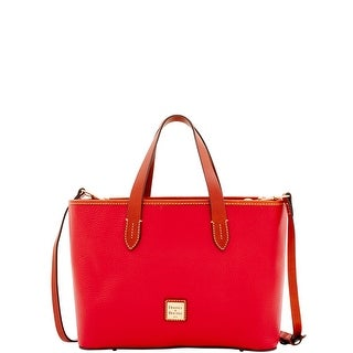 Dooney & Bourke Pebble Grain Brandy (Introduced by Dooney & Bourke at $198 in May 2017) - Red