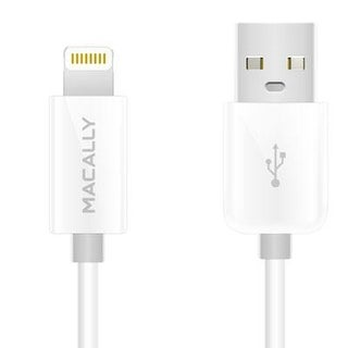 Macally Misyncablel6w Extra-Long Lightning To Usb 2.0 Cable, 6', White