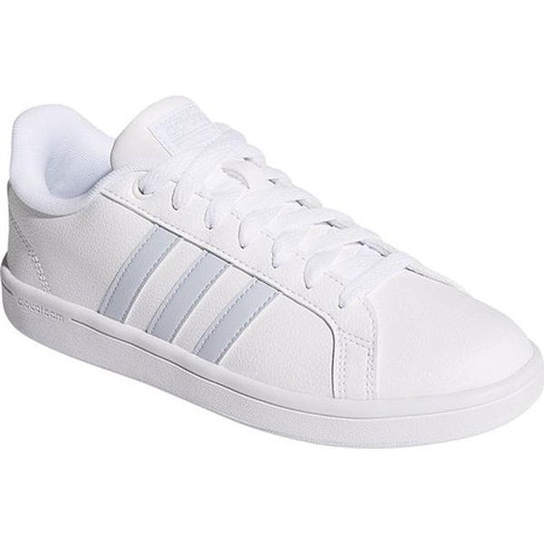 9b74eb42d930a adidas Women  x27 s NEO Cloudfoam Advantage Stripe Court Shoe FTWR  White FTWR