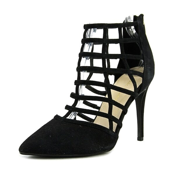 Marc Fisher Naples2 Pointed Toe Suede Heels