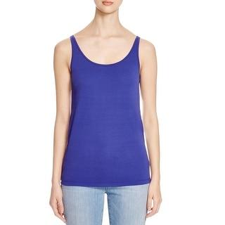 Eileen Fisher Womens Tank Top Silk Stretch