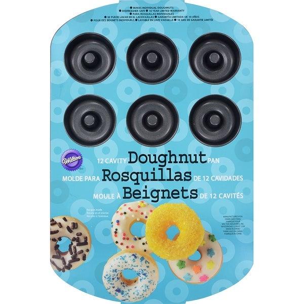 """Doughnut Pan-12 Cavity 13.75""""X9.25"""""""