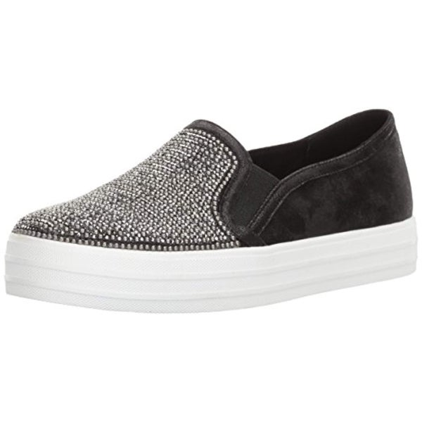 Shop Skechers Women s Double Up Shiny Dancer Fashion Sneaker - Free Shipping  Today - Overstock.com - 26433168 3cf9820856bc