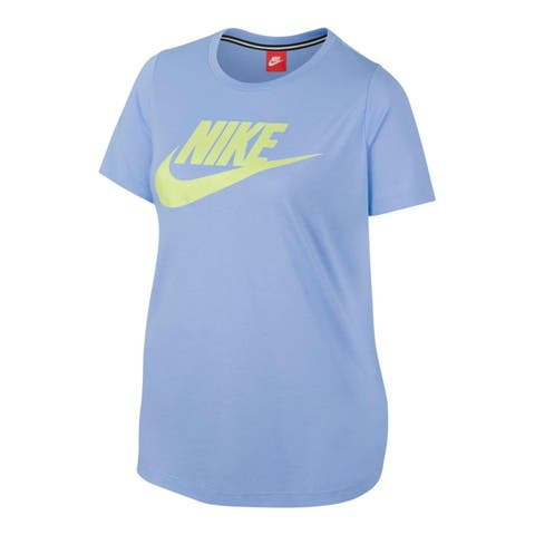 Nike Womens Plus Futura T-Shirt Fitness Short Sleeves
