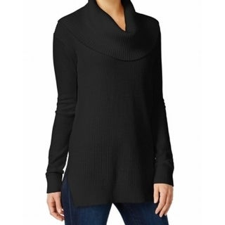 MICHAEL Michael Kors NEW Black Women's Size Medium M Cowl Neck Sweater