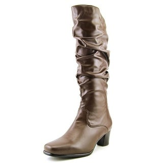 David Tate Pacific Women Round Toe Synthetic Mid Calf Boot