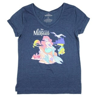 Link to Disney Junior's The Little Mermaid And Friends V-Neck Cuffed Sleeve T-Shirt Similar Items in Tops