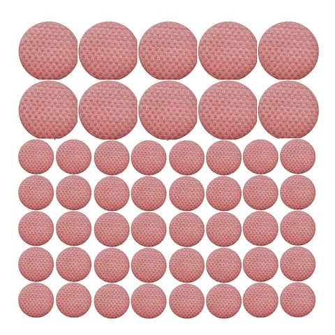 Saleen Round Placemat Restaurant Bundle (Old Red, Set of 50)