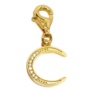 Julieta Jewelry Thin Moon Clip-On Charm