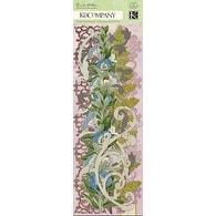 """Flora & Fauna Swirl Adhesive Borders 12""""-"""
