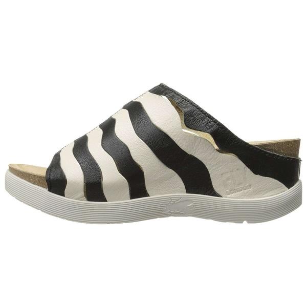 Fly Loundon Womens P143874000 Open Toe Casual Slide Sandals