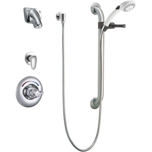 Shop Delta T13h363 05 Commercial Pressure Balanced Shower