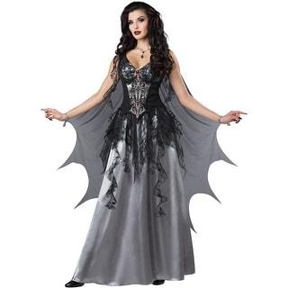 Womens Dark Vampire Countess Ultimate Costume