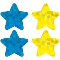 Stars Multicolor Foil Stickers
