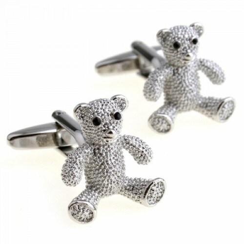 Women's Teddy Bear Sweet Children Cufflinks
