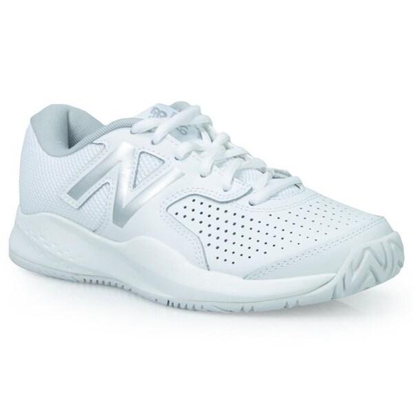 c1b450557c9e Shop New Balance Womens WC696WT3 Low Top Lace Up Tennis Shoes - Free ...