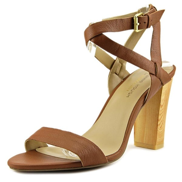 Julianne Hough Kris Women Open Toe Leather Tan Sandals