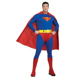 Rubies Superman Plus Size Costume - Blue/Red - 44-50