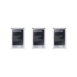 Three Replacement OEM Batteries for Samsung Note 3 Devices