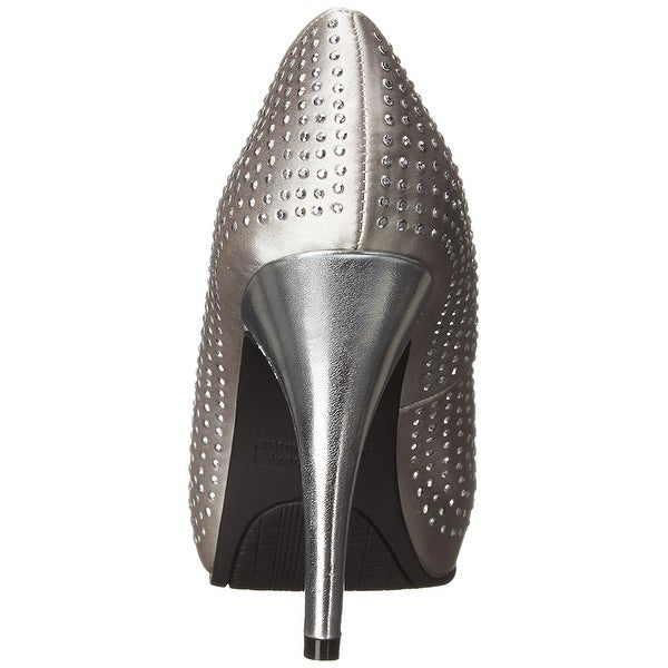 Rampage Womens GIMME Open Toe Classic Pumps