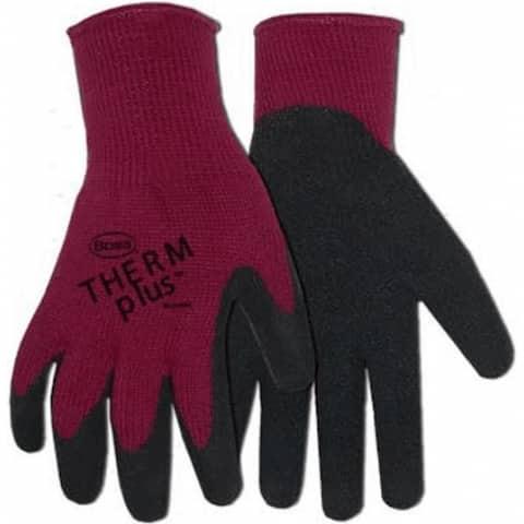 Boss 8435B Ladies Therm Plus Acrylic Lining Latex Palm Glove, Small