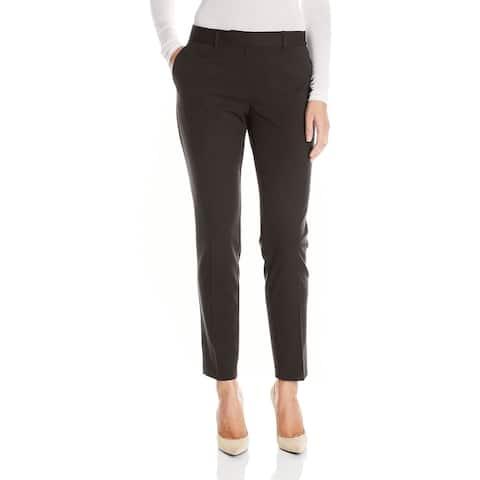 Jones York Womens Pants Black Size 18W Plus Grace Ankle Stretch