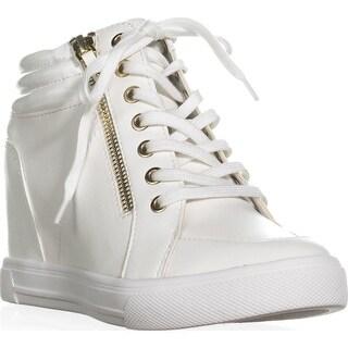 Aldo Kaia Hidden Wedge Fashion Sneakers, White