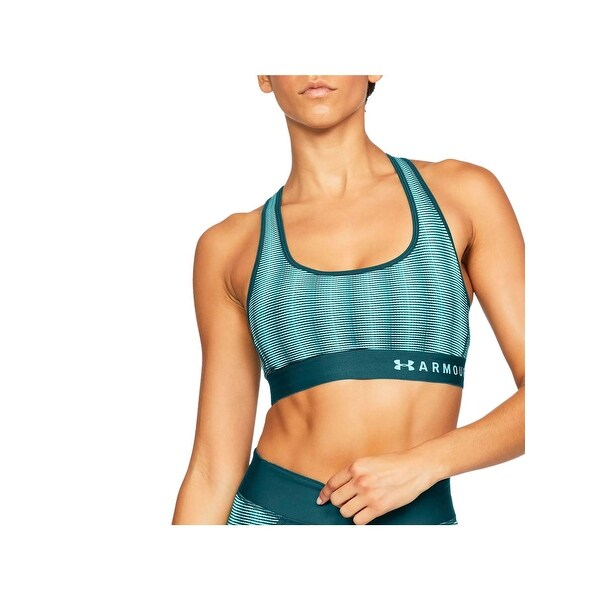 8fad1e0703620 Shop Under Armour Womens Sports Bra Medium Impact Printed - Free Shipping  On Orders Over  45 - Overstock - 23081696