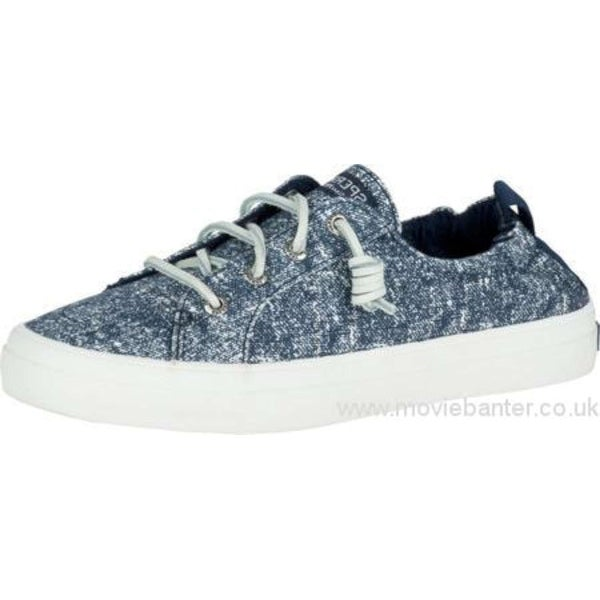 Sperry Womens Crest EBB Low Top Slip On Fashion Sneakers - 6