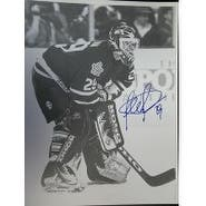 Signed Potvin Felix Toronto Maple Leafs BW 11x14 Photo autographed