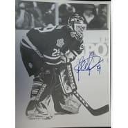 Signed Potvin Felix Toronto Maple Leafs BW 11x14 Photo autographed
