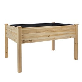 "Driftsun Patio Raised Garden Bed Elevated Planter Box (48"" x 34"" x 32"")"