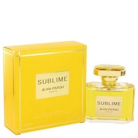 Eau De Parfum Spray 2.5 oz SUBLIME by Jean Patou - Women