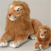 US Toy Company Jumbo Realistic Lion (2 Packs Of 1)