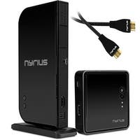 Nyrius ARIES Home HDMI Digital Wireless Transmitter & Receiver With Bonus Additional HDMI Cable - 2 HDMI Cables Total