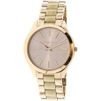 Michael Kors Women's Slim Runway MK3714 Multicolor Stainless-Steel Fashion Watch
