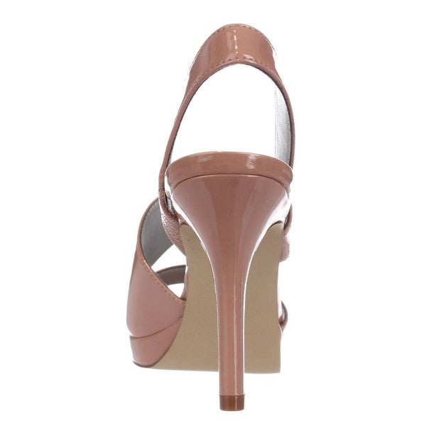 Tahari Womens Bounty Open Toe Casual Slingback Sandals