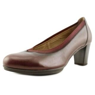 Gabor 95.232 Round Toe Leather Heels