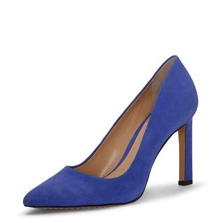 Link to Vince Camuto Womens Sariela Leather Pointed Toe Classic Pumps Similar Items in Suits & Suit Separates