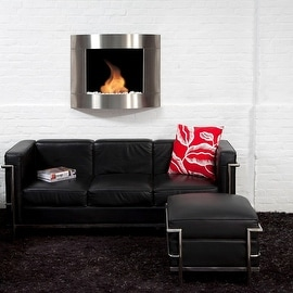Bio Blaze BB-D2I Diamond Type 2 Wall Mount Fire Place, Stainless