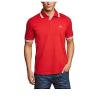Hugo Boss Paddy Red Cotton Polo