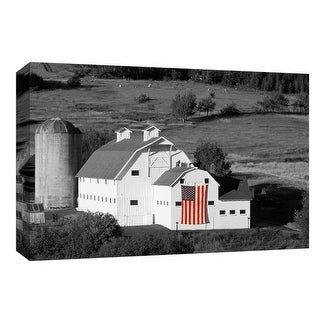 "PTM Images 9-148364  PTM Canvas Collection 8"" x 10"" - ""American Farmhouse"" Giclee Rural Art Print on Canvas"