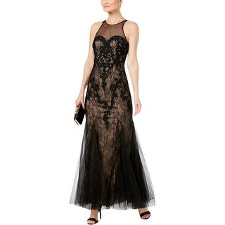 Betsy   Adam Womens Evening Dress Illusion Full-Length. SALE ends in 3  days. Quick View 26aefc7bf211