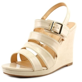 Luichiny A Dreanne Open Toe Synthetic Wedge Sandal