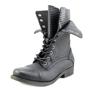 Nine West High Rise 38   Round Toe Synthetic  Boot